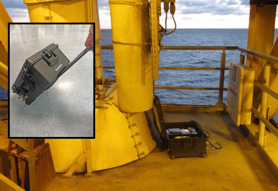 Portable Annulus Tester offshore
