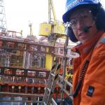 4Subsea engineer on platform