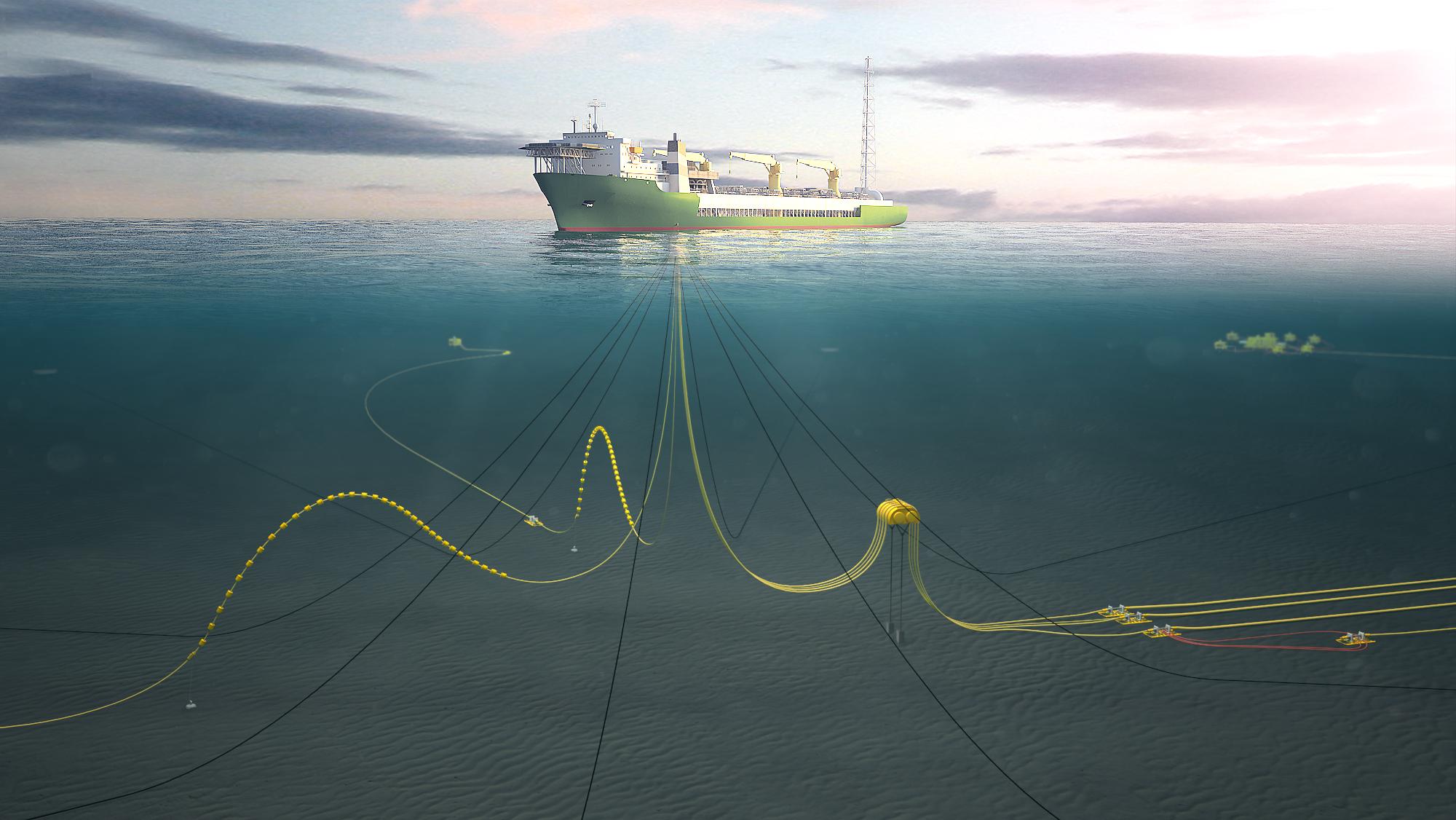mooring line monitoring