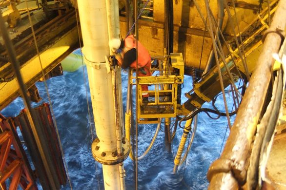 Drilling operation 4Subsea licensed