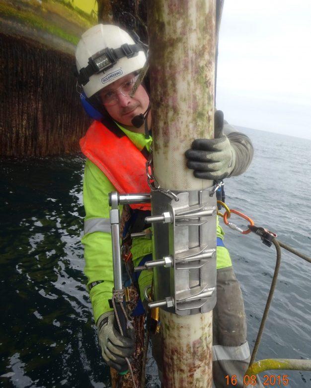 4Subsea clamp repair offshore