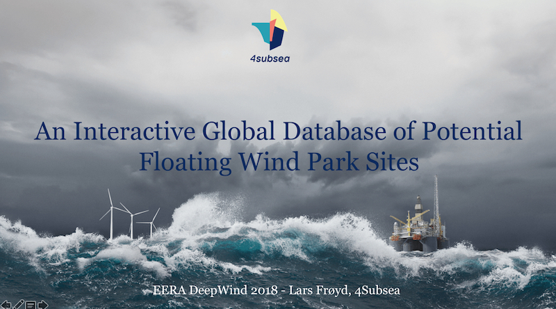 offshore wind 4Subsea at conference