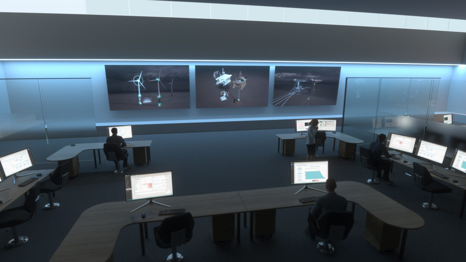 4Subsea decision support control room