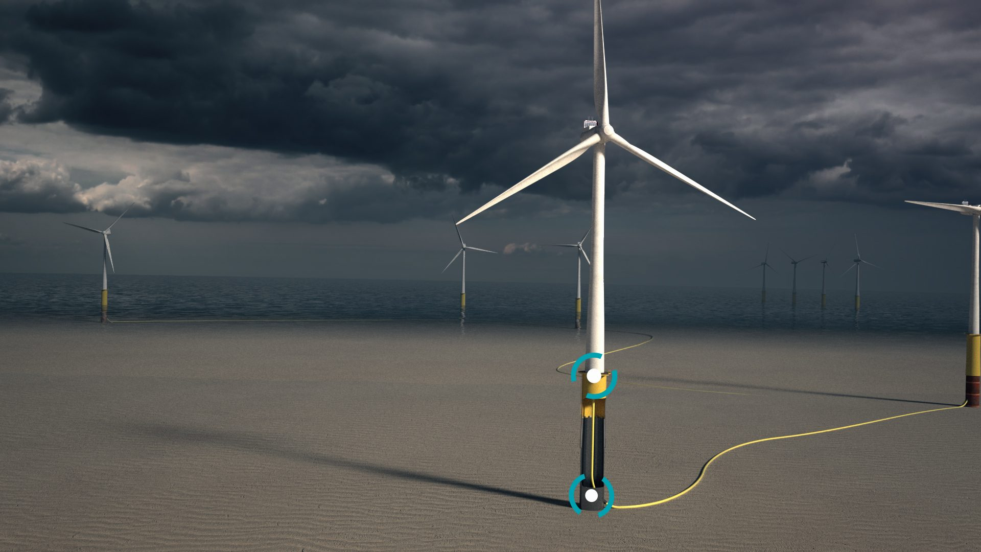 4Subsea offshore wind cable monitoring - copyright