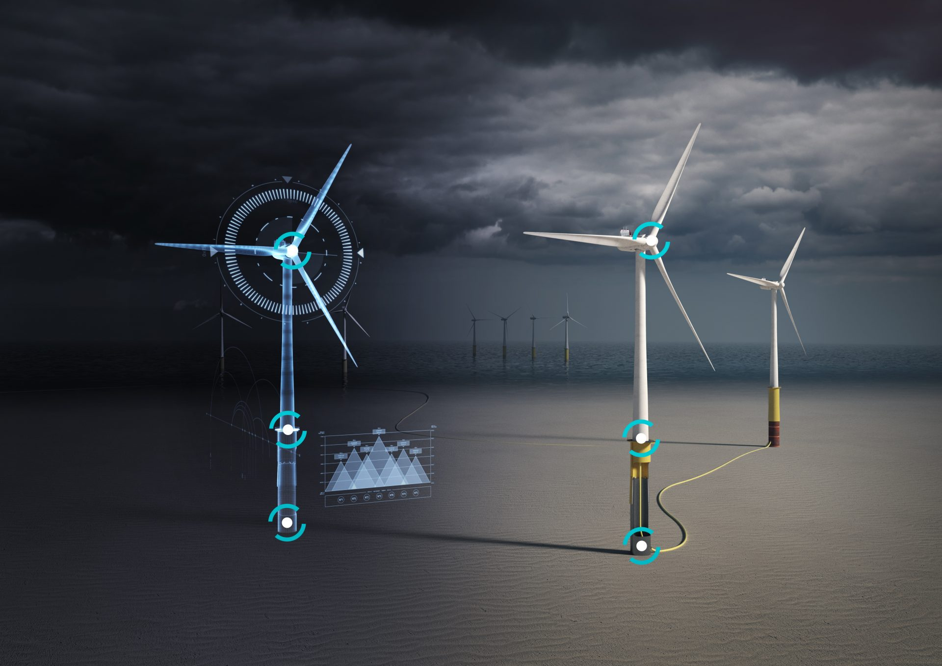 4Subsea digital twin offshore wind - all rights reserved