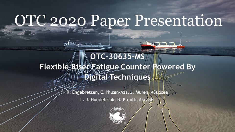 OTC 2020 Flexible Riser Fatigue Presentation