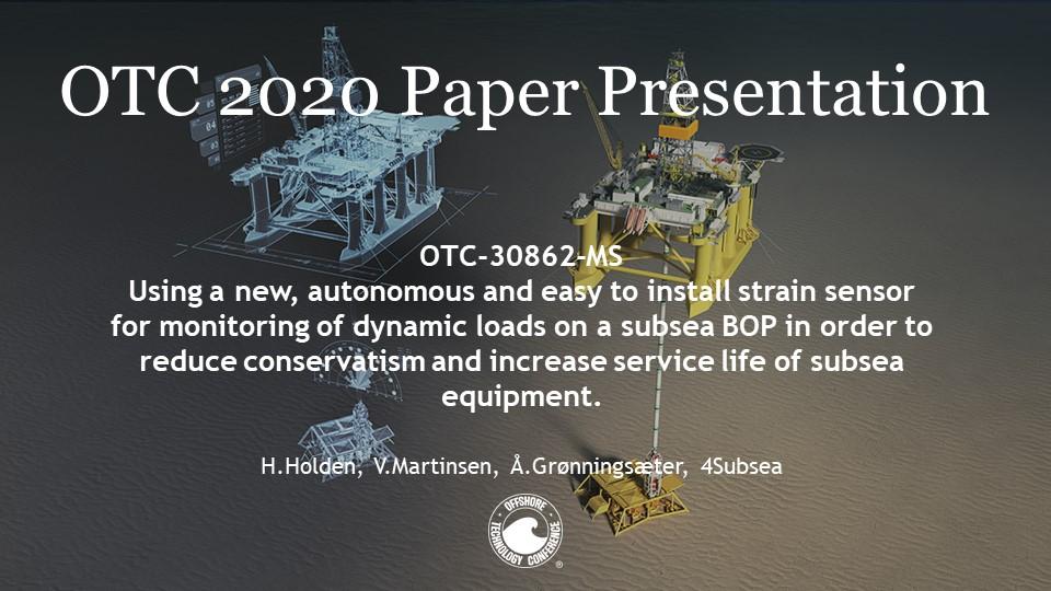 OTC 2020 Strain Sensor Presentation